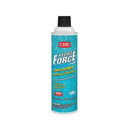 CRC HydroForce  Glass Cleaners Professional Strength - 20oz glass cleaner & lab (Set of 12)