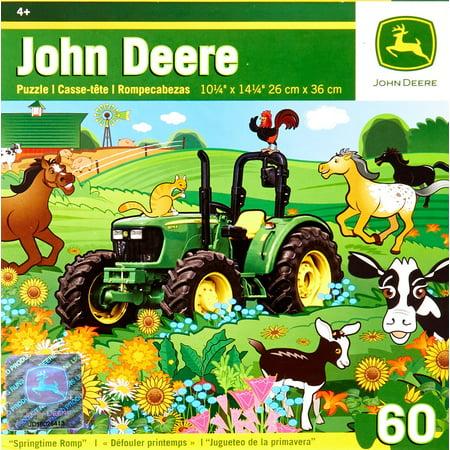 MasterPieces John Deere Springtime Romp Jigsaw Puzzle, 60-Piece