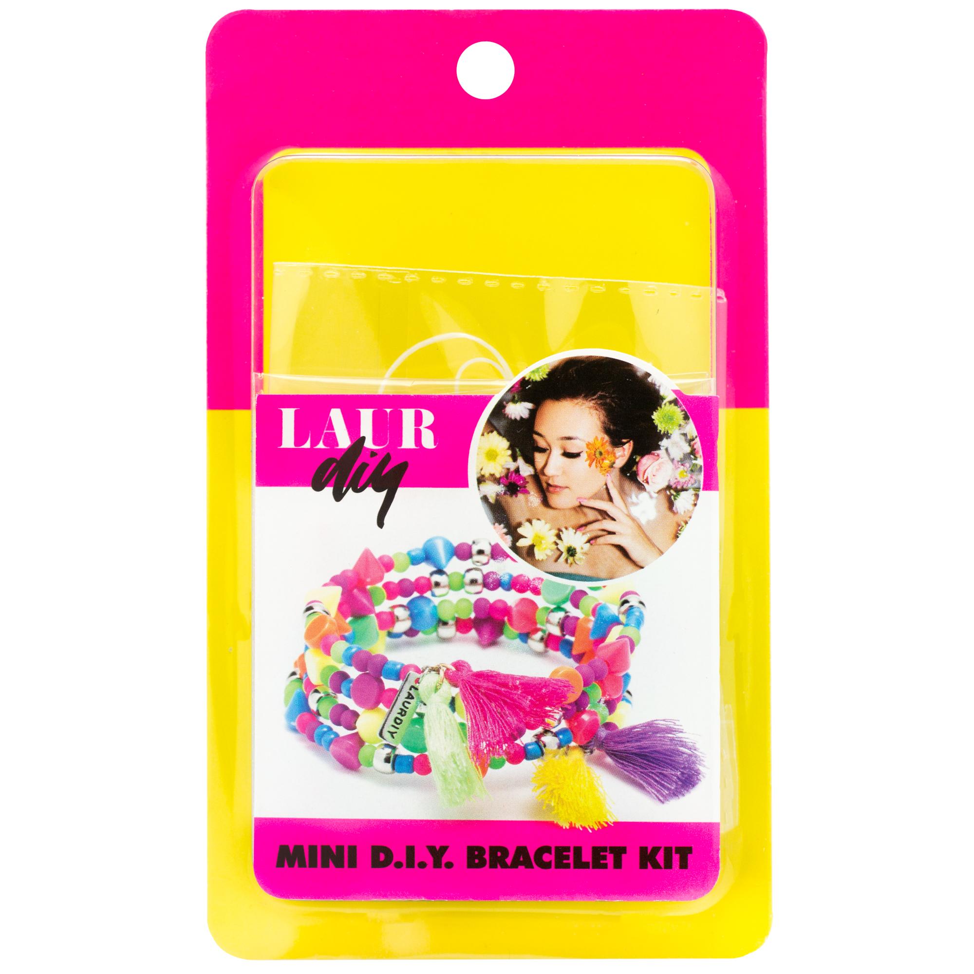 LaurDIY Neon Tassel Bracelet Mini DIY Kit
