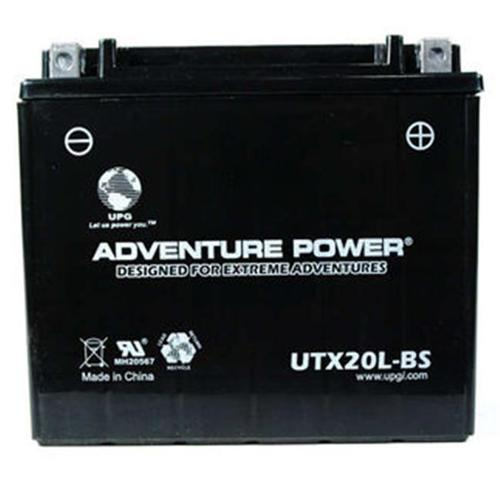 UPG 43031 UTX20L-BS Dry Charge AGM Power Sports Battery