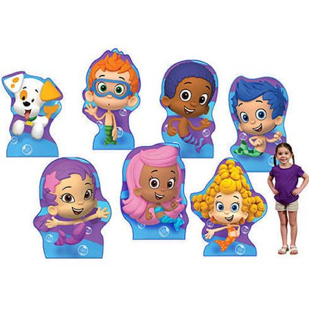 Bubble Guppies Cardboard Stand-Ups, Set of 7
