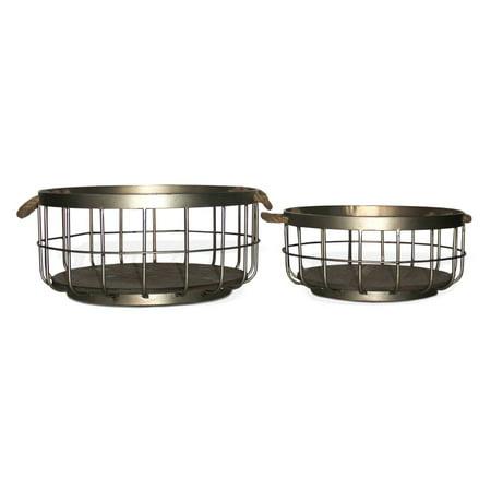 Gild Design Home Henrike Decorative Basket   Set Of 2