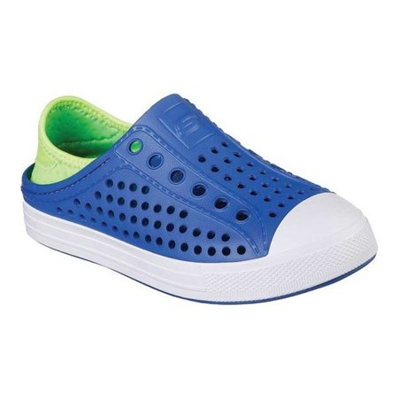 Boys' Skechers Guzman Steps Aqua Surge Slip-On Shoe