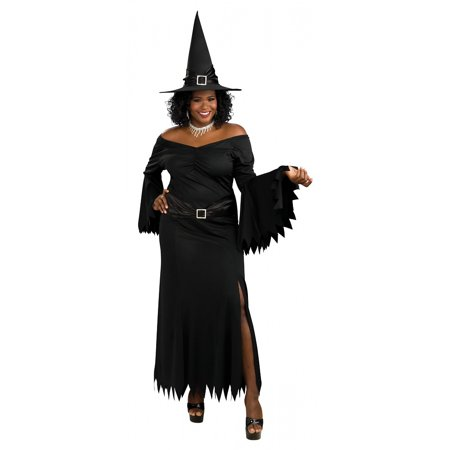 Classy Women Costumes (Classy Witch Plus Size Adult Costume - Plus)