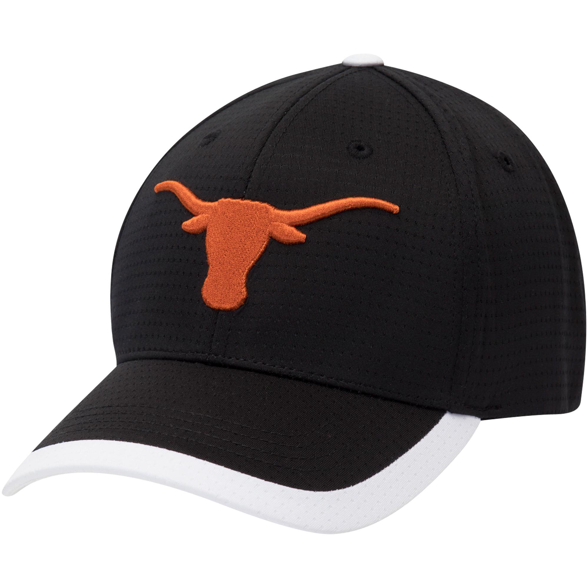 Men s Black Texas Longhorns Dunlap Adjustable Hat - OSFA - Walmart.com 57712dabe7d2