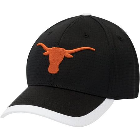 Men's Black Texas Longhorns Dunlap Adjustable Hat - OSFA (Texas Longhorn Hats)