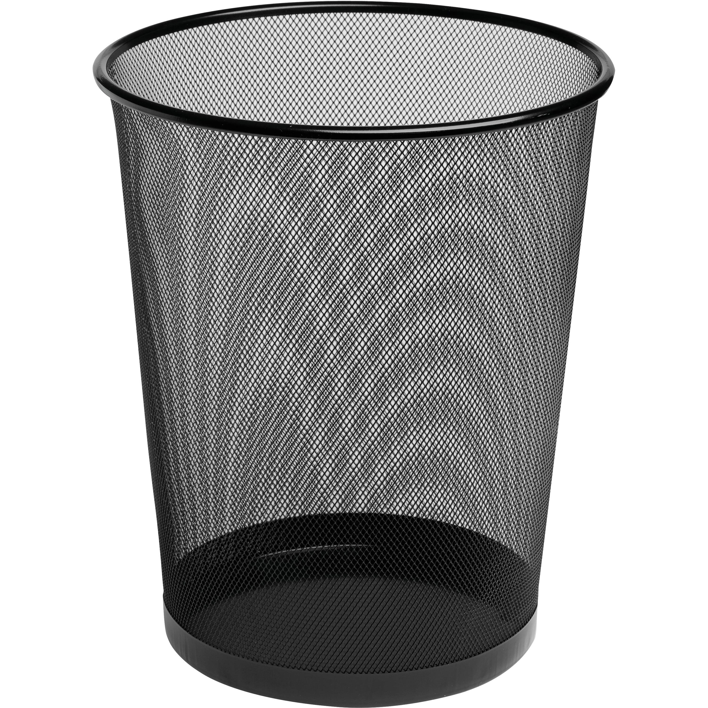 Rolodex, ROL22351, Mesh Wastebasket, 1, Black