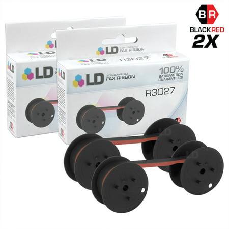 LD Compatible Data Supply R3027 Black and Red Printer Ribbon