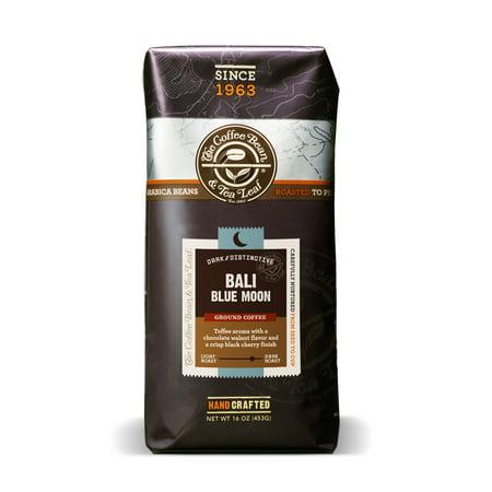 The Coffee Bean & Tea Leaf Bali Blue Moon Medium Roast Ground Coffee 16 oz. Bag](Blue Coffee)
