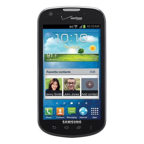 Refurbished Samsung  I200ZPP Legend Black Prepaid Cell Phone Verizon