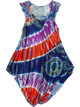 India Boutique Little Girls Tie Dye Swim Cover-Up