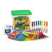 Crayola Creativity Tub Art Set Ages 5+, 80 Pieces