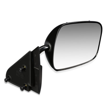 For 1988 to 2000 Chevy GMC C1500 C2500 K3500 Pickup Suburban Tahoe Blazer Yukon OE Style Manual Passenger / Right Side View Door Mirror 15697330 89 90 91 92 93 94 95 96 97 98 99