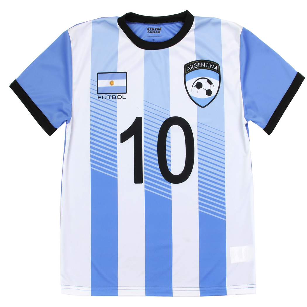 YOUTH WORLD CUP SOCCER JERSEY - ARGENTINA