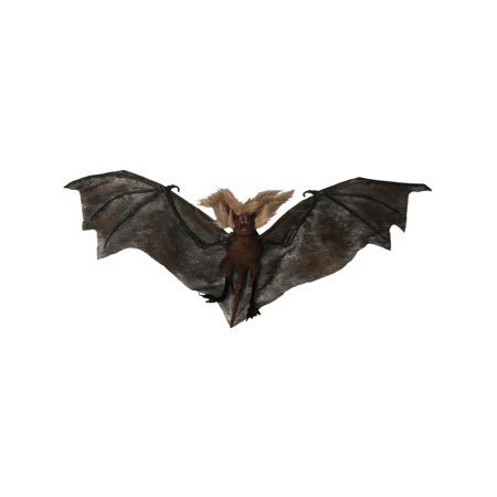 Nocturnal Batcave Flying Vampire Black Bats Party Dcor Accessory Decoration](Make Halloween Bat Cave)