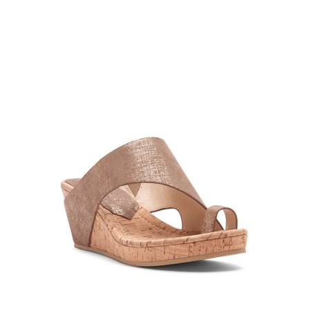 Gyer Leather Wedge Toe-Ring Sandals ()