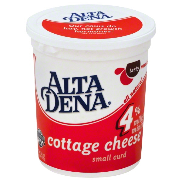 Alta Dena 4% Milkfat Small Curd Cottage Cheese, 32 oz