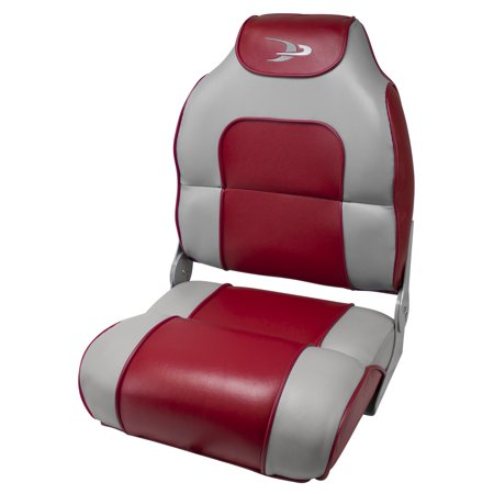 Wise 8WD258PLS-935 Alumacraft Style High-Back Boat Seat ()