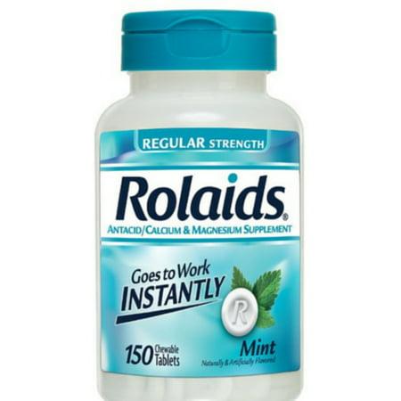 Regular Issue Mint (Rolaids Regular Strength Tablets, Mint 150 ea (Pack of)