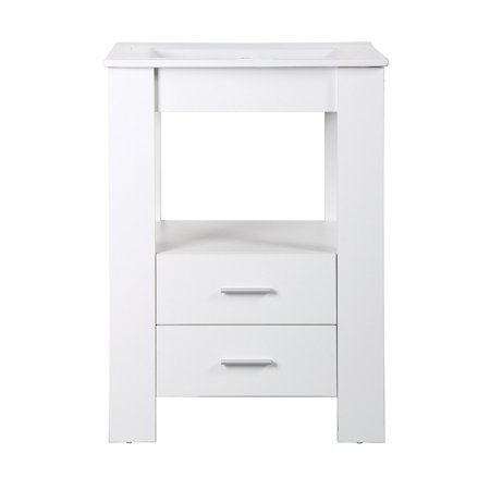 Yosemite Home Decor YVEC-480 24 in. Single Bathroom - Small Bathroom Vanity