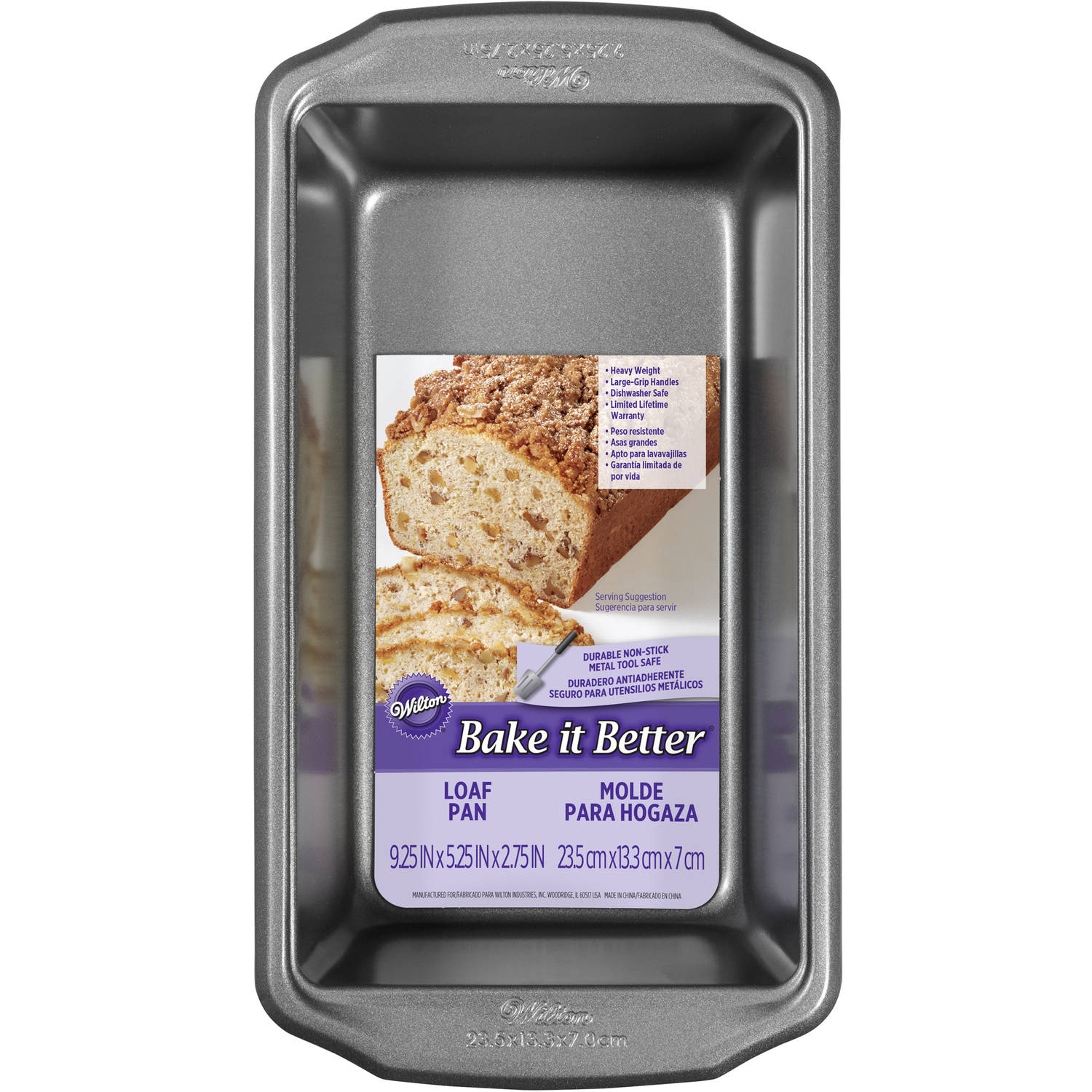 Wilton Bake It Better 9 x 5 Large Loaf Pan
