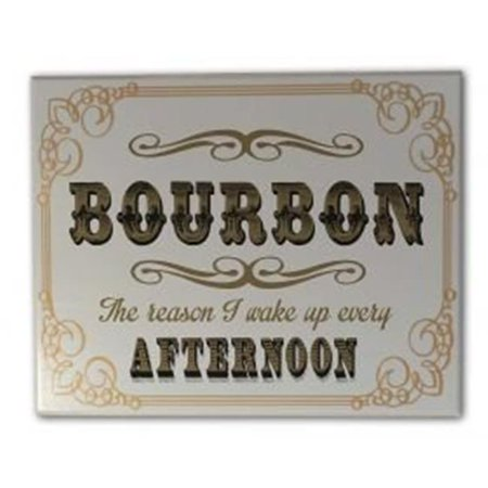Thousand Oak Barrel 6502 Bourbon Afternoon Sign, Grey