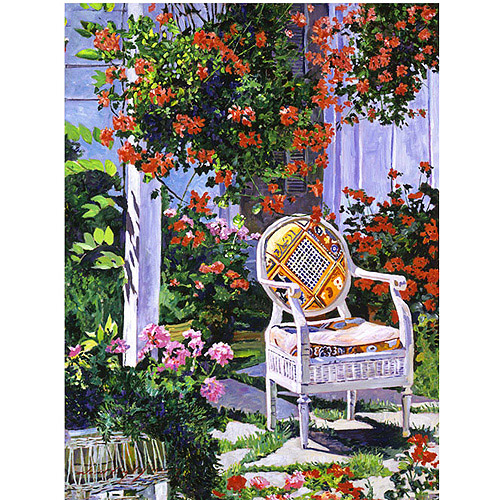 "Trademark Art ""The Sun Chair"" Canvas Wall Art by David Lloyd Glover"