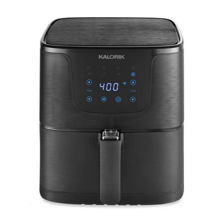Kalorik 5.3 Quart Digital Air Fryer XL, Matte Black