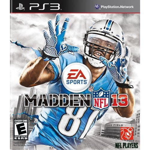 Refurbished Madden NFL 13 For PlayStation 3 PS3 Football