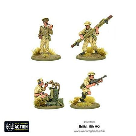 British 8th Army HQ New British Army Cavalry Regiments