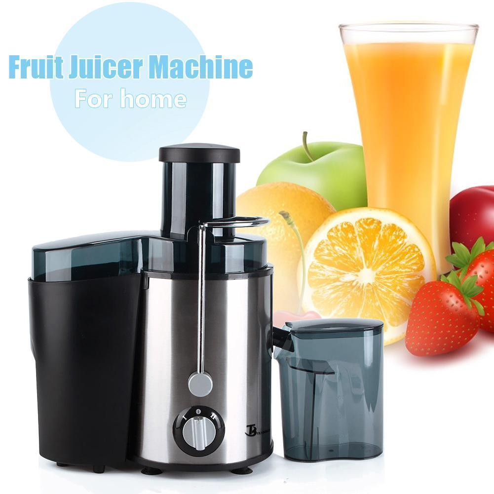 Big Mouth 400 Watt Stainless Steel Juicers for Home Kitchen Extractor Powerful Electric Fruit Juicer for... by