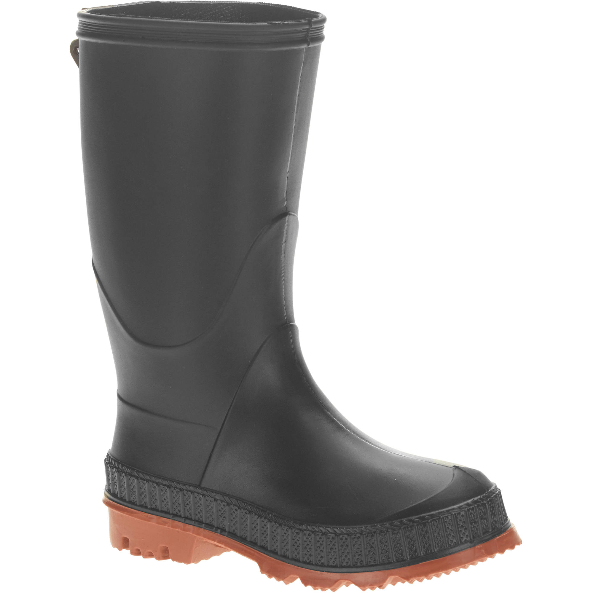 Toddler's Chain-Link Sole Chore Rain Boot