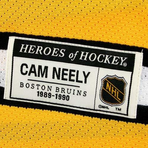 CCM Boston Bruins  8 Cam Neely Black Heroes of Hockey Jersey - Walmart.com 4ce7b4e95