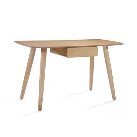 Tunston Wood Study Table with Faux Wood Overlay
