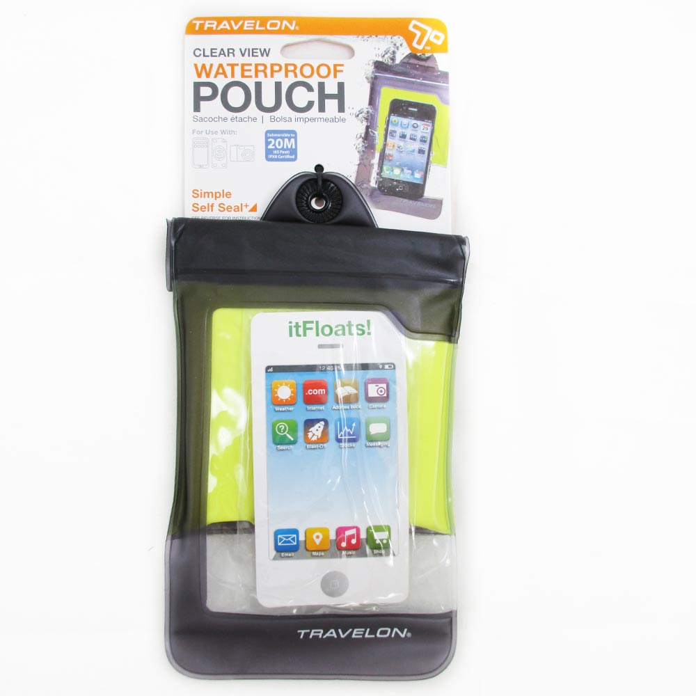 promo code c0814 9f124 Travelon Waterproof Pouch Dry Bag Airtight Iphone Camera Phone Wallet Case  New