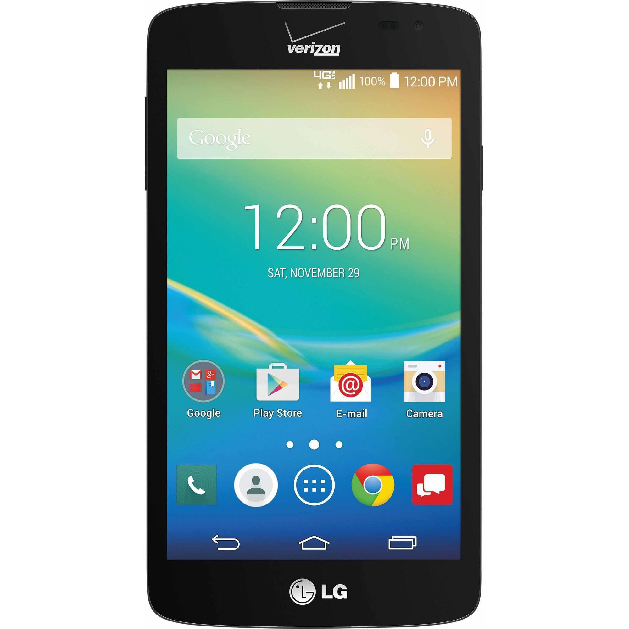 Verizon LG Transpyre 4G LTE Prepaid Smartphone