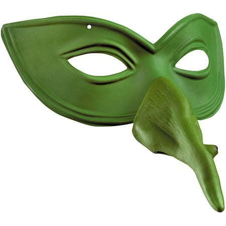 Witch Nose Eye Mask Halloween Accessory Easy Clear Nose Purge Mask
