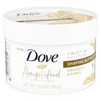 Dove with Jojoba Amplified Textures Shaping Butter Curl Cream 10.5 oz