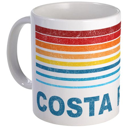CafePress - Retro Costa Rica Palm Tree Mug - Unique Coffee Mug, Coffee Cup CafePress