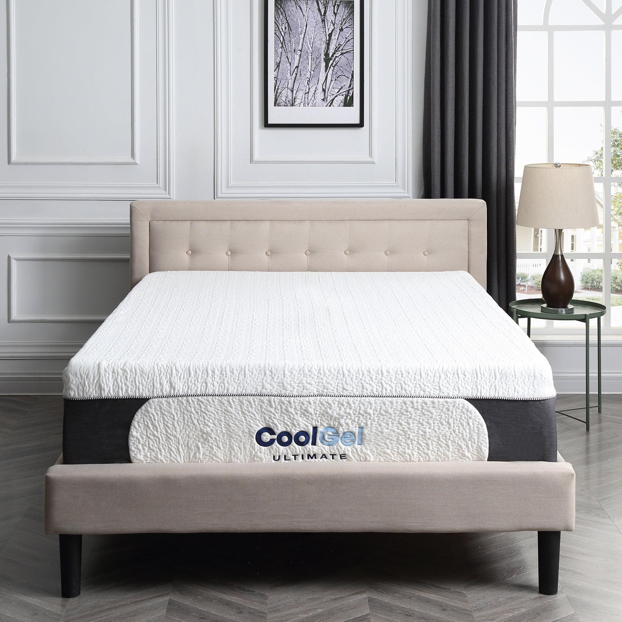 Modern Sleep Cool Gel Ultimate Gel Memory Foam 14 Inch Mattress With