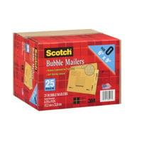 Scotch 3M Bubble Mailers Size 0 (6 x 9) - 25ct