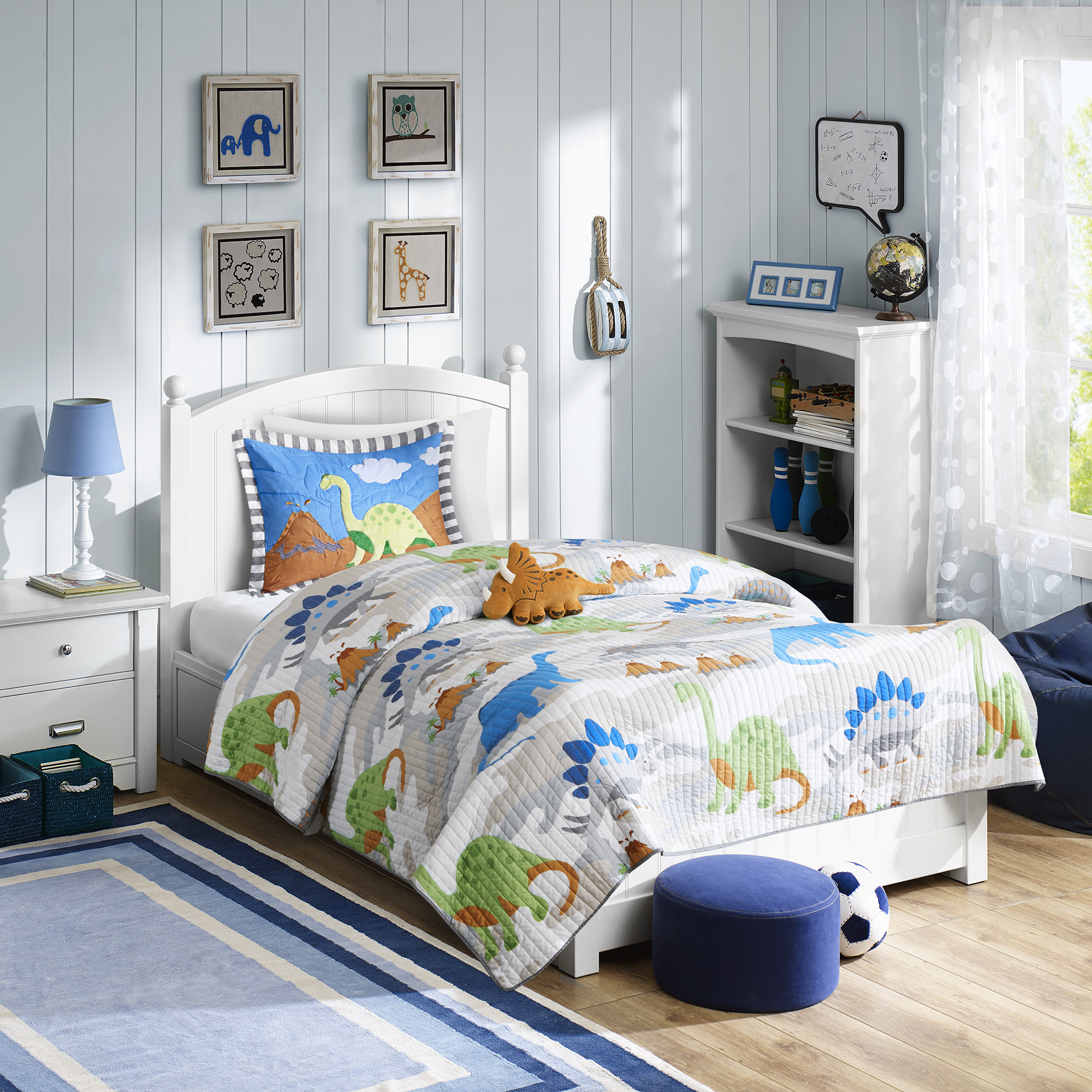 Home Essence Kids Spike Bedding Coverlet Set by E&E Co. Ltd
