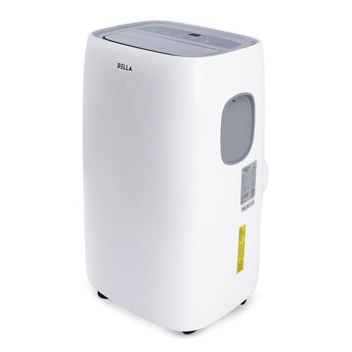 Della 10 000 Btu Portable Air Conditioner For Rooms Up To 300 Sq Ft Quiet Ac Cooling Fan Dehumidifier And Remote Control White Walmart Com Walmart Com