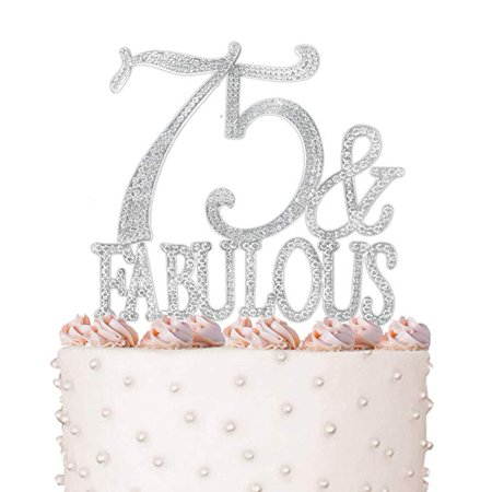 Rhinestone Crystal Cake Topper Silver Letters Bling Love Wedding Birthday Anniversary