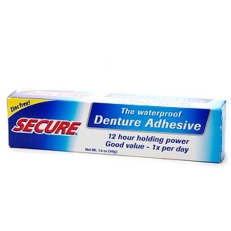 Secure Denture Adhesive >> Secure Denture Adhesive 1 4 Oz Pack Of 2