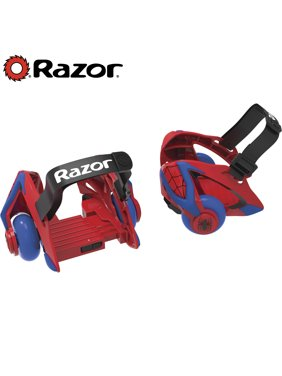 Razor Spider-Man Jetts Heel Wheels - For Ages 8+ and riders up to 176 lbs