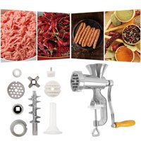 New Manual Meat Grinder & Sausage Stuffer Meat Grinder Mincer Pasta Maker Crank Household Kitchen Tools