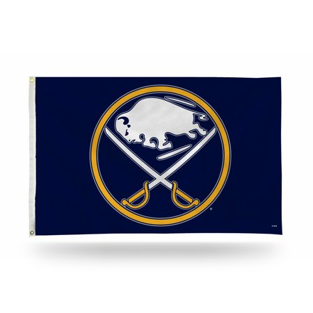 Buffalo Sabres NHL 3X5 Indoor Outdoor Banner Flag with grommets for hanging