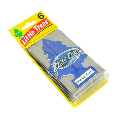 Little Trees Car Air Freshener 6-Pack (New Car