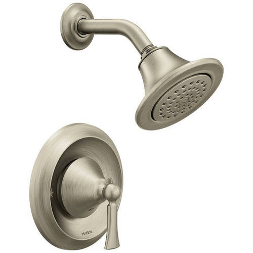 Moen T4502EPBN Wynford Single Handle Posi-Temp Pressure Balanced Shower Trim, Available in Various Colors